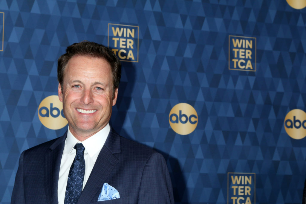 Chris Harrison at the ABC Winter TCA Party Arrivals at the Langham Huntington Hotel