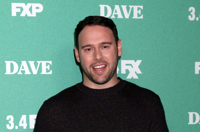 """Scooter Braun at the premiere for """"Dave"""" on FXX"""