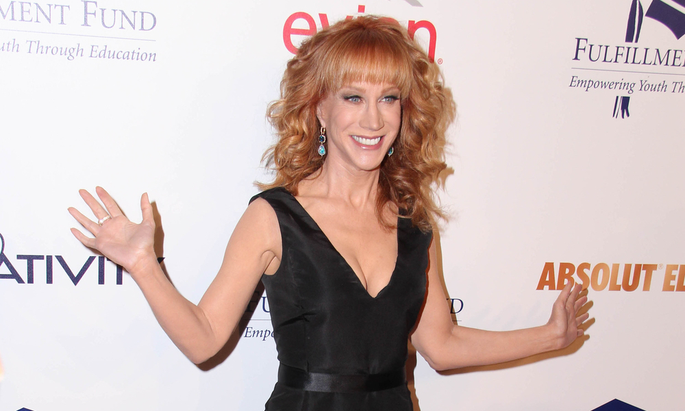 Kathy Griffin at the Fulfillment Fund Stars Benefit Gala 2014 at Beverly Hilton Hotel